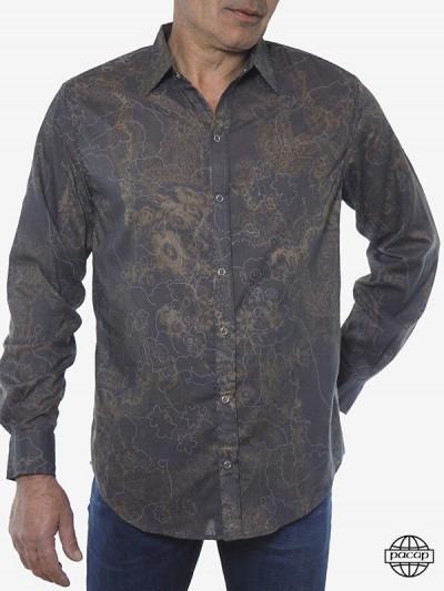 Man Shirt Psychedelic...