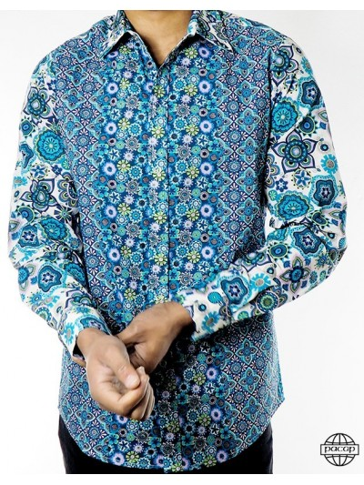 Shirt Retro Blue Original...