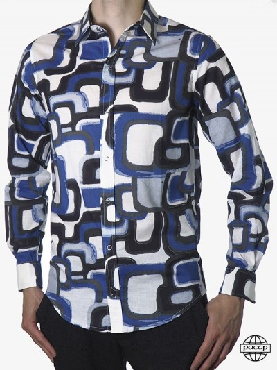 Men's Shirt Mosaic Original...