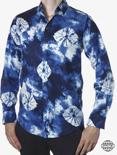 Man Shirt Abstract Vintage...