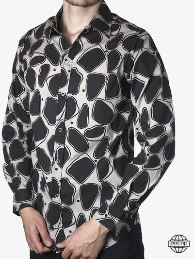 Sexy Shirt Cotton Black -...