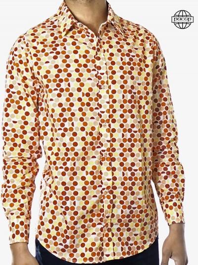 Shirt gedruckt Tupfen...