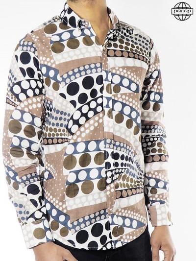Afrikanisches Muster-Hemd...
