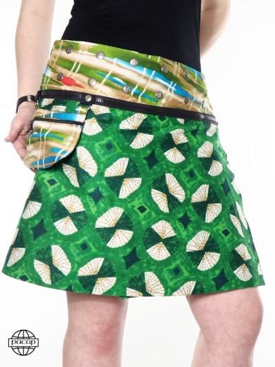 """Skirt """"Midi"""" Zip Wallet..."""