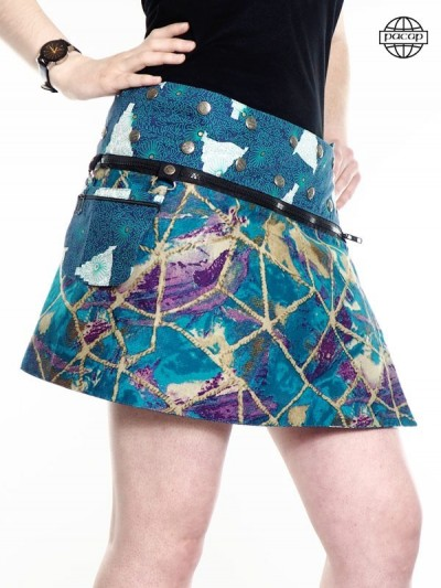 "Zip Skirt ""Short""..."