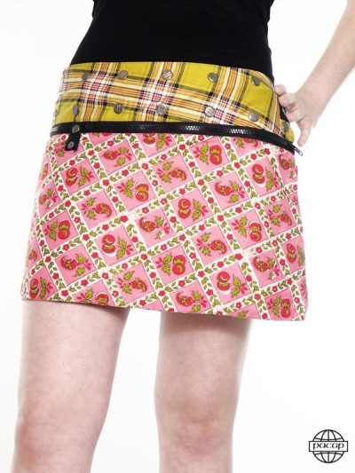 "Zip Skirt ""Short""..."