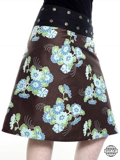 """Skirt """"Long"""" asymmetrical..."""