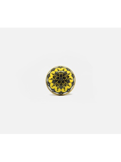 Ring in Yellow Resin