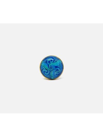 Einstellbare Gründe Blue Ring