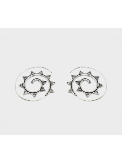 Boucles D'oreilles Spirales...
