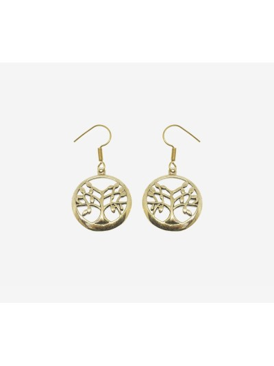 Earrings Golden Tree of...