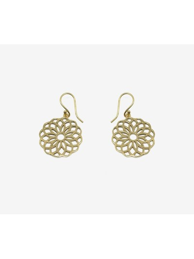 Earrings Traditional Brass...