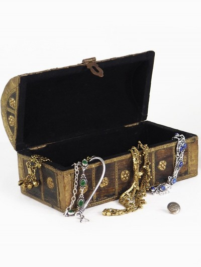 Mini Treasure Chest Antique...