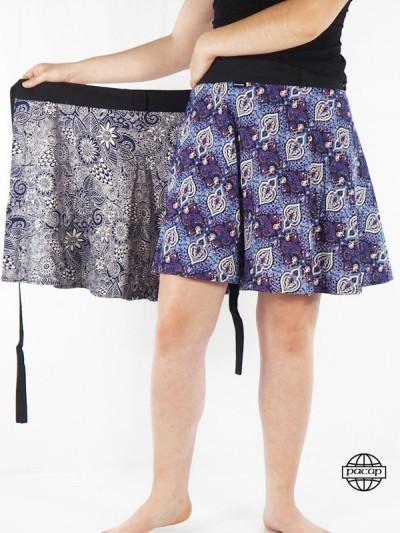 Waisted Skirt Reversible...