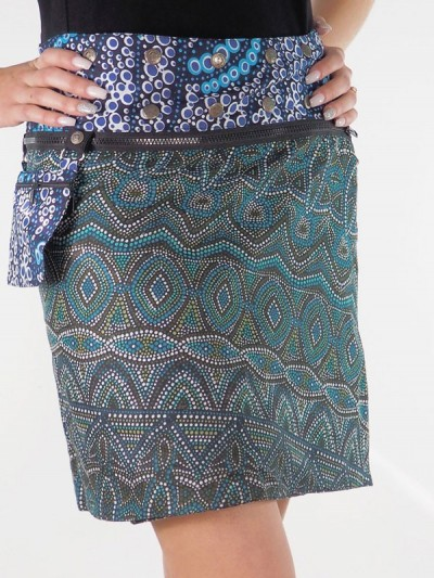 Reversible Zip Skirt and...