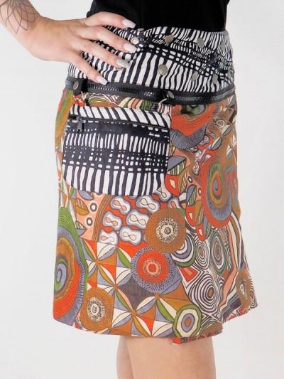 Flare Skirt Zipper opening...