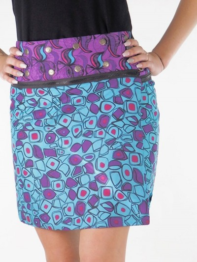 Skirt Reversible Zip - 3...
