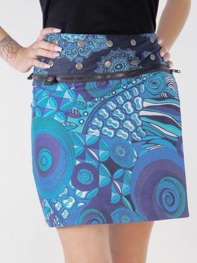 Blue Skirt - 3 lengths in...