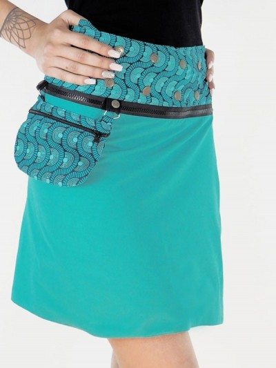 Transforming Skirt Green...