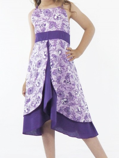 Robe de Princesse Violette...