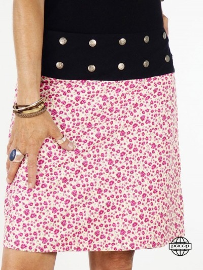 "Skirt ""Midi"" Printed Wallet..."