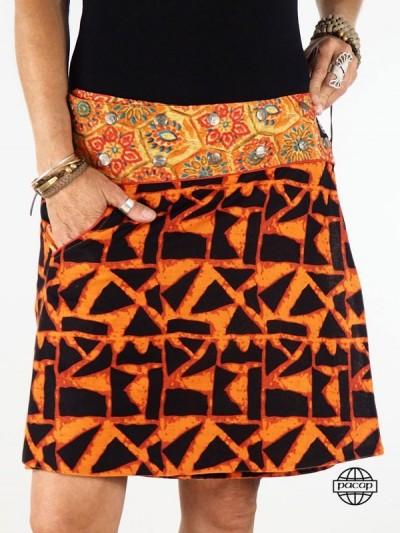 "Skirt ""Average"" Orange..."