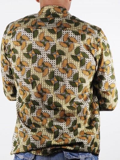 Shirt Man in Ethnic African...