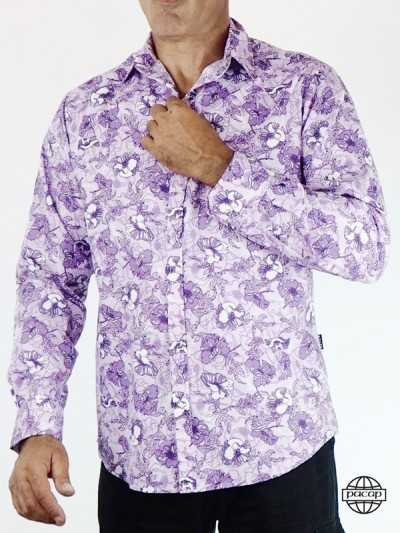 Shirt Man Printed Tropical...