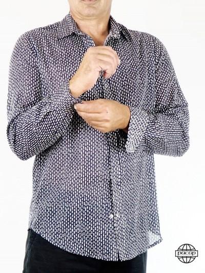Man Shirt Classic Printed...