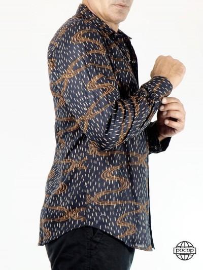Langarm-Shirt bedruckt...