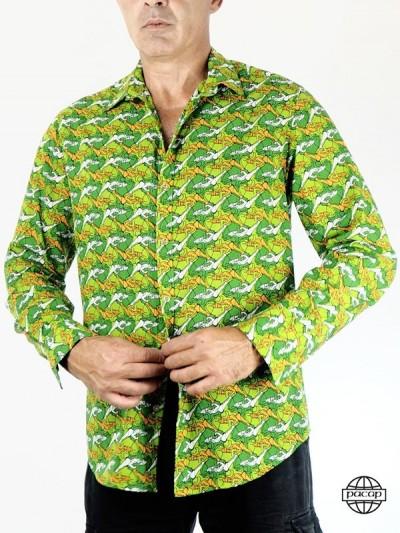 Italian Shirt Collar...