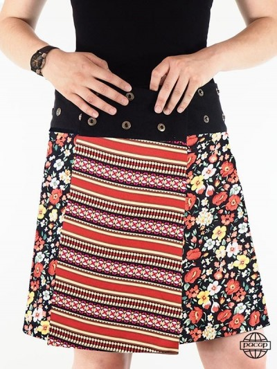 "Skirt ""lang"" Rayon Straight..."