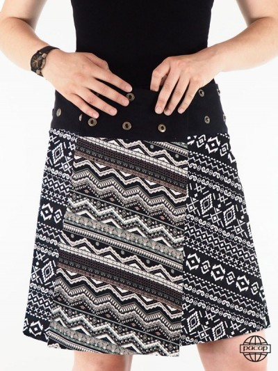 "Skirt ""Midi"" Gründe Tribal..."