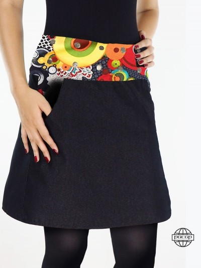 "Skirt Colorful Wallet ""3..."