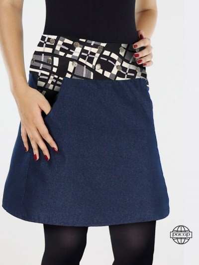 Skirt Pockets Cup Wallet...