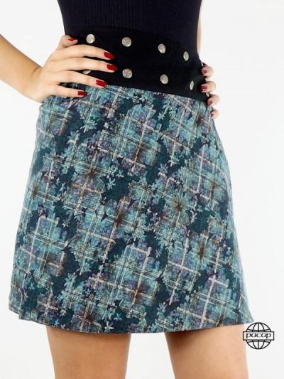 """Skirt """"Midi"""" Vintage Floral..."""