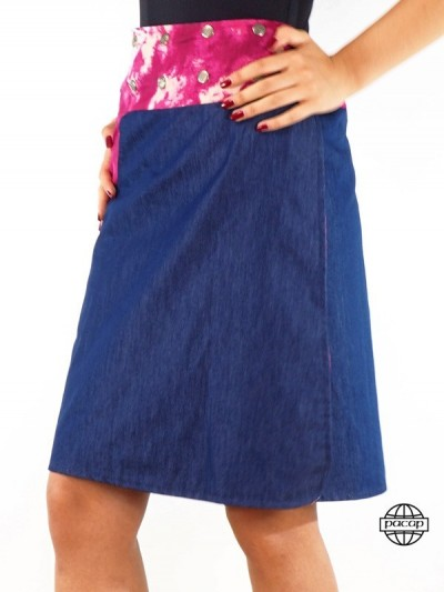 "Skirt Jeans ""Long"" Style..."