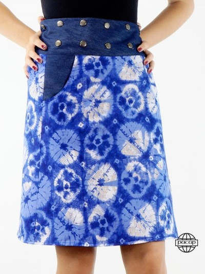 Jupe Jeans Multi-Tailles...
