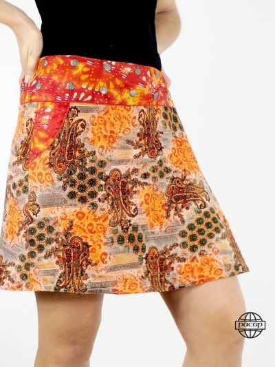 "Skirt Pockets ""Mi-Long""..."