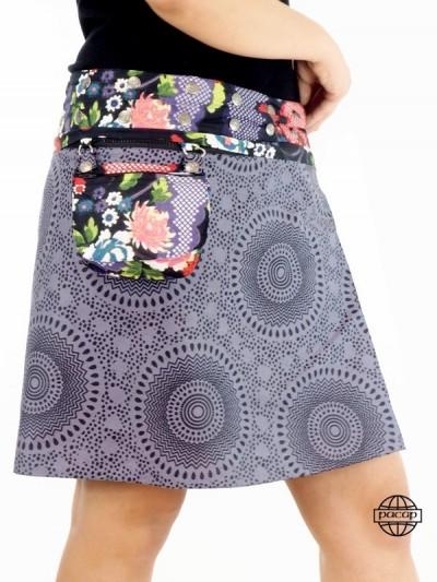 Reversible skirt 8...