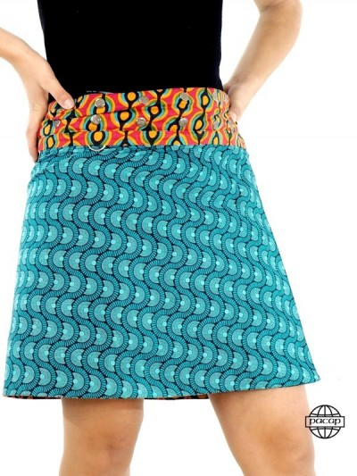 Zip Skirt Summer Removable...