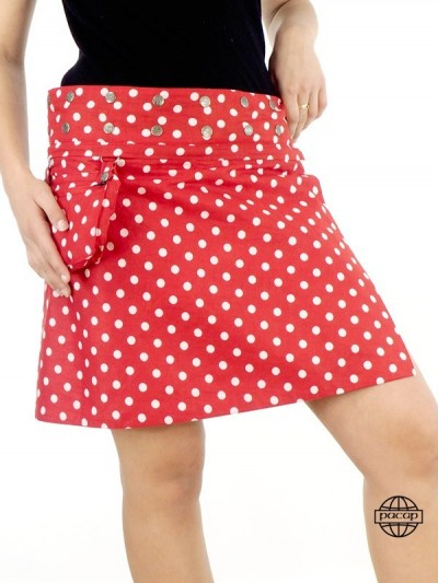 Skirt Couture wallet Cotton...