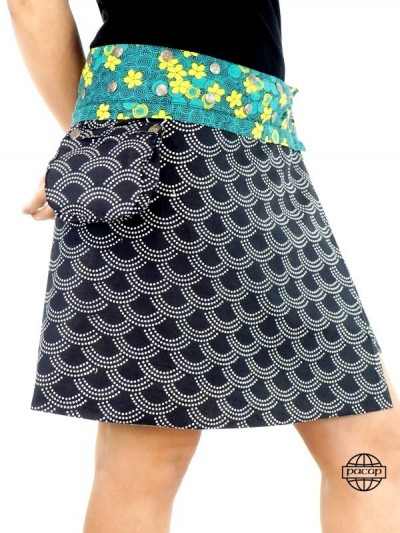 Skirt Summer Removable Belt...