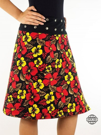 Kneeling Skirt with Printed...