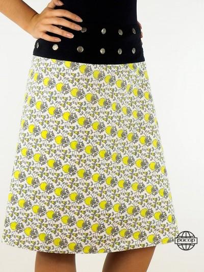 """Kniend Skirt """"lang""""..."""
