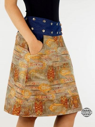 "Skirt ""Maxi"" Reversible..."