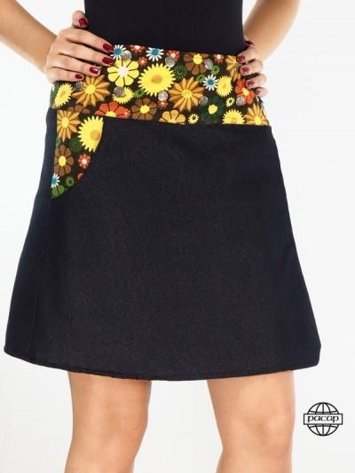 John Black Skirt Size Fleur...
