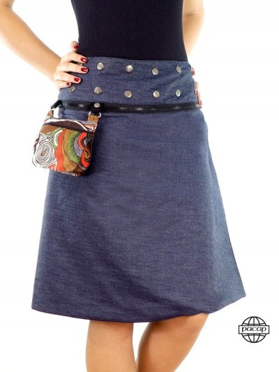 """Skirt Blue Jeans """"Long"""" and..."""