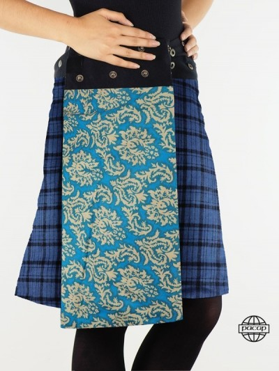 "Skirt ""Long"" Double Face..."