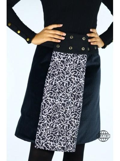 """Winter Skirt """"Long"""" Black..."""